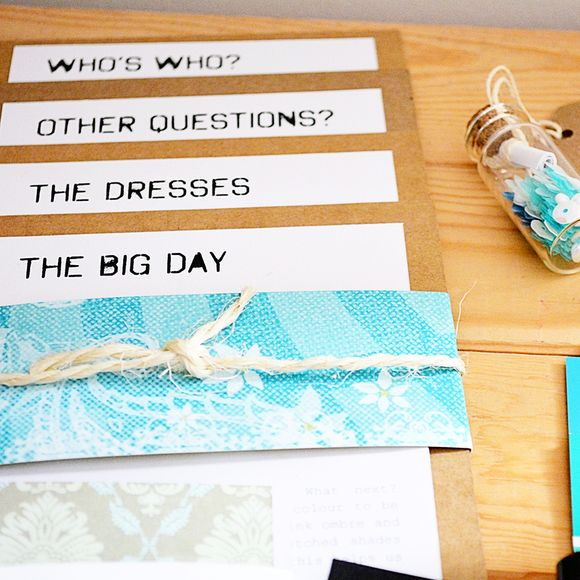 Bridesmaid box cards