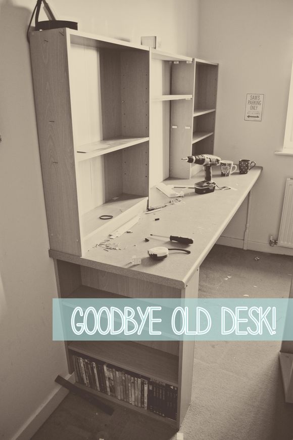 Goodbye old craft desk